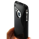 Capa / Case De Luxo Em Tpu S-type Iphone 3 3g 3gs + Película