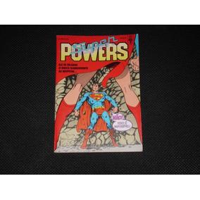 Hq Super Powers Nº 17 - Ed. Abril - 1990. Só Debito Em Conta