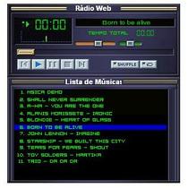 Player / Rádio On-line Para Seu Website / Portal - Php E Asp