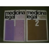 Livros Medicina Legal 2 Volumes Flaminio Favero Frete Grátis