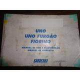Manual Do Proprietário Fiat Uno Furgao Fiorino 2001