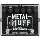 Pedal Metal Muff Con Top Boost Distorsion Electro Harmonix