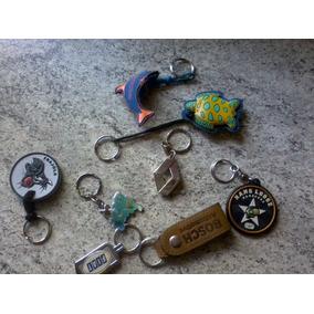 Chaveiro/chaveirinho Coleção Lote Com 8