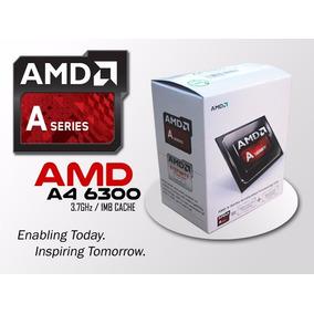Processador Amd A4 6300 3.7ghz Box Socket Fm2