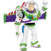 Buzz Lightyear Boneco 25cm Toy Story Som E Luz Brinquedo