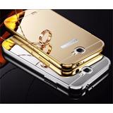 Capa Bumper Aluminio + Tampa Espelhada Samsung Galaxy Note2