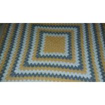 Manta Tejida Para Bebe Al Crochet