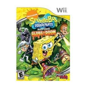 Jogo Bob Spongebob Squarepants Globs Of Doom Nintendo Wii
