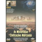 Dvd Doc - As Misteriosas Civilizações Marcianas(leg/lacrado)