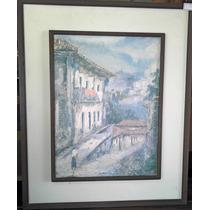 Quadro Casarão ( Moldura , Pintura , Arte , Desenho )