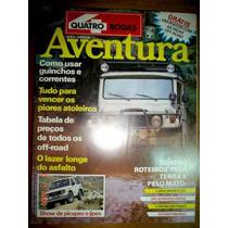 Revista 4 Rodas Quatro Especial Aventura Gurgel Engesa Road