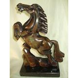 Escultura Em Pedra De Figura De Cavalo