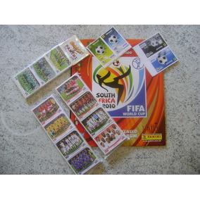 Album Figurinhas Copa 2010 Completo Todas Figurinhas A Colar