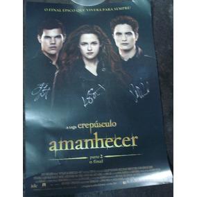 Crepusculo - Amanhecer Pt 2 - Poster Autografado !