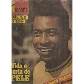 Manchete Documento Hitórico - Vida E Glória De Pelé