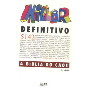 Millôr Fernandes - Millôr Definitivo - Capa Mole-1994 -lp&m
