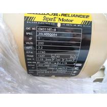 Motor Eléctrico 1 Hp Baldor Reliance Nuevo!!!!