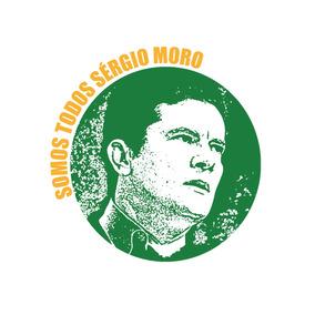 Adesivo Sérgio Moro Juiz Brasil Lava Jato Sticker 12cm #6011
