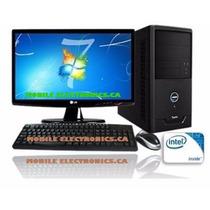 Computadora Dual Core 320gb Mouse Teclado Cornetas Monitor19
