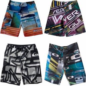 Kit 10 Bermuda Shorts Tactel Surf Praia Frete Grátis