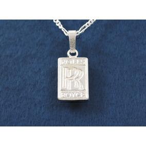 Emblema rolls royce en mercado libre mxico dije logo rolls royce fina plata 925 con cadena 45 cms a45 1 aloadofball Choice Image