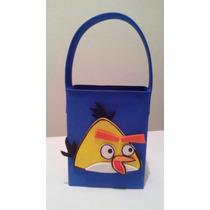 Dulcero Angry Birds Fiesta Infantil Gorras Foami Recuerdos