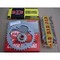 Kit Relacao C Retentor Xt600 Tenere Did/vaz 40/15 Ano 88/89