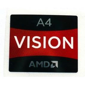 Adesivo Original Amd Vision A4