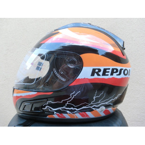 Capacete Repsol Df2 Helmet 2017 Tenho Monster Nos Robocop
