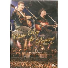 Dvd Chico Rey & Paraná - Ao Vivo - Vol. 1 - Novo Lacrado***