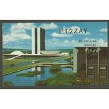 Postal Brasilia Congresso Nacional 1973 - Antigo