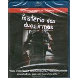Blu-ray O Mistério Das Duas Irmãs - Novo***