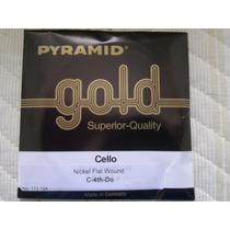 Corda Avulsa Para Violão 7 Cordas Pyramid Gold - 7ª Corda