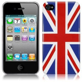 Capa Hard Case Premium Apple Iphone 4g 4s - Inglaterra