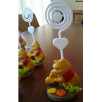 Lembrancinha Ursinho Pooh Puff Porta Recado