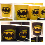 Vasos Batman, Plasticos Descartables!!!!