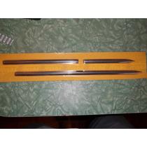 Kit Dos 3 Frisos Do Painel Do Fusca Antigo Em Aluminio
