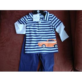 Vestido Niños Conjunto Carter´s Talla 12 Meses