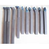 Ferramentas De Corte Mini Torno 10mm X 10mm Kit 10 Pçs