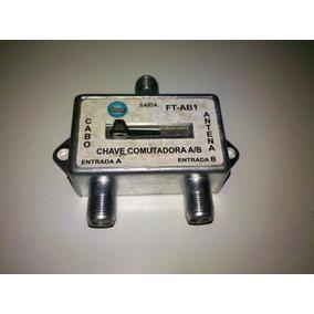Chave Comutadora Ab Desl. Parabólica Tv Vídeo Game. 02 Unid.