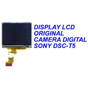 Display, Lcd Original Para Camera Digital Sony Dsc-t5