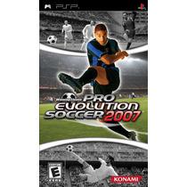 Pro Evolution Soccer Pes 2007 Psp Videojuego Seminuevo