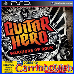 Guitar Hero Warriors Of Rock Ps3 (blu-ray)