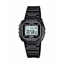 Relogio Casio Feminino La-20 Wh-1a Cronometro Alarme Wr P