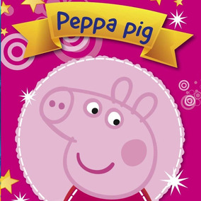 Kit Imprimible Peppa Pig La Cerdita Diseña Tarjetas 2x1