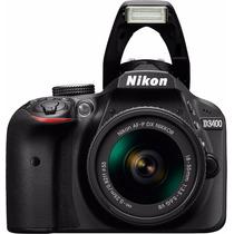 Camara Nikon D3400 Kit 18-55 24mp Reflex Full Hd Bluetooth