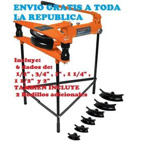 Doblador Hidráulico De Tubo Horizontal 1/2 A 2 .envio Gratis