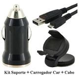 Kit Carregador Suporte Car P/ Sony Ericsson Xperia Z3