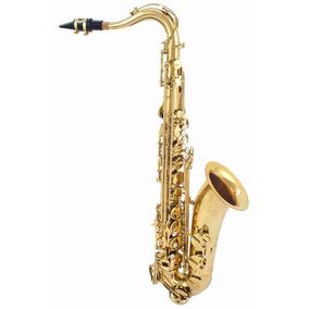 Saxofone Tenor Custom Sib Bemol Bb Laqueado + Hard Case !
