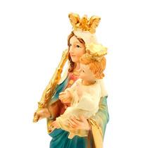 Imagem Escultura Nossa Senhora Auxiliadora 13cm